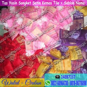 Grosir Souvenir di Cirebon - Tas Yasin Songket